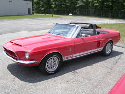 '68 GT500 Convertible Exterior Pictures