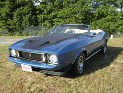 '73 Mustang Convertible Exterior Pictures