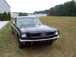 '66 Mustang Exterior Pictures