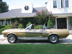 '68 GT350 Convertible Exterior Pictures