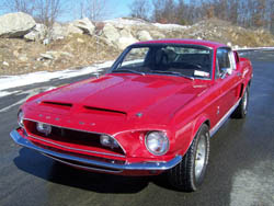 1968 red gt350
